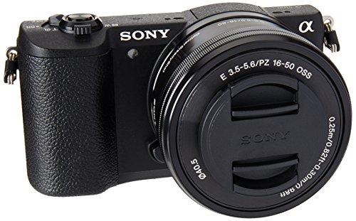 Sony ILCE-5100L Cámara Alpha Mirrorless con Montura E APS-C CMOS con 24.3mp, Incluye Lente SELP1650