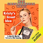Kristy's Great Idea cover art
