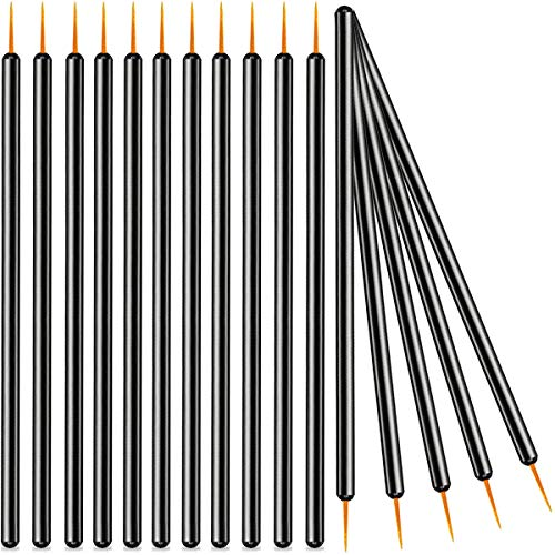 KINGMAS 100 Pack Disposable Eyeliner Brushes Applicator Makeup Eye Liner Wands