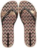 Ipanema Kirei Silk V Fem, Chanclas Mujer, Multicolor (Pink Black 8090.0), 37 EU