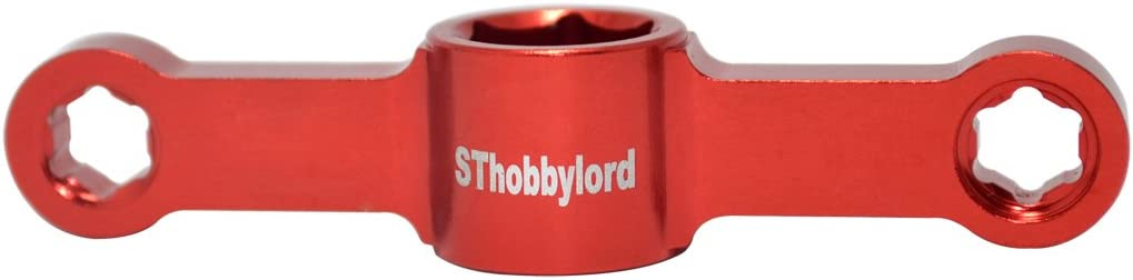 SThobbylord Propeller Quick Mount Wrench Prop Nuts Quick Release