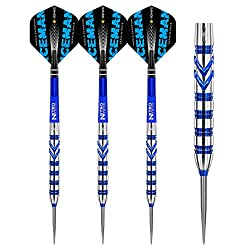 Set of 3 x 24g - 90% premium quality Red Dragon tungsten darts Hardcore flights Red Dragon Nitrotech shafts World Number 3 The Iceman Gerwyn Price changed the darts world creating a New Order at the 2018 Grand Slam of Darts, when he beat double world...