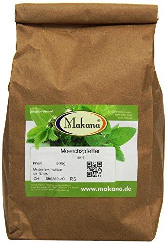 Makana Mönchspfeffer (Keuschlammsamen), ganz, 500 g Tüte (1 x 0,5 kg)