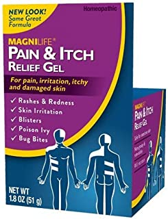 MagniLife Pain & Itch After Shingles Gel Fast-Acting, Lasting Relief of Tingling, Irritation, Sensitivity, Pain - Soothing...