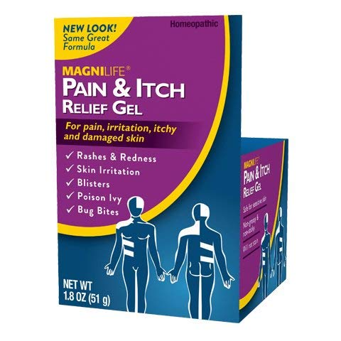 MagniLife Pain & Itch After Shingles Gel Fast-Acting, Lasting Relief of Tingling, Irritation, Sensitivity, Pain - Soothing Homeopathic Topical, Non-Greasy with Jasmine & Mezereon - 1.8oz