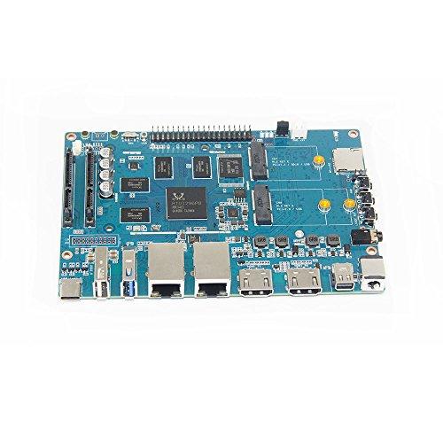 youyeetoo Banana pi BPI W2-Smart-Router mit Realtec RTD1296-Design Geeignet für Home Entertainment und Heimautomation Game Center