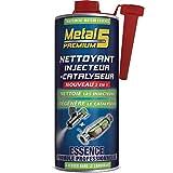 Nettoyant Injecteur + Catalyseur Essence - 1L - Metal 5 Premium - Traitement curatif alliant une combinaison hautement efficace d'agents actifs aux propriétés nettoyantes et protectrices