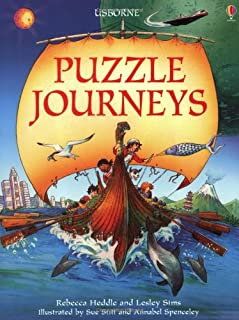 """""""Puzzle Journey Through Time"""", """"Puzzle Journey Through Space"""", """"Puzzle Journey Around the World"""""""