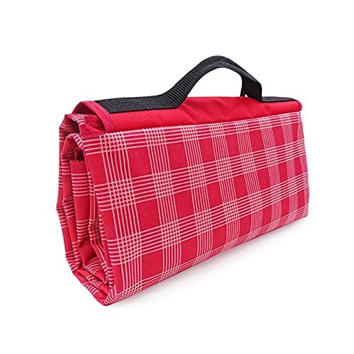 Heerty Manta de picnic para playa, acampada al aire libre, portátil, ligero, eventos deportivos, impermeables, plegable, para acampar, jugar (color: 200150 cm)