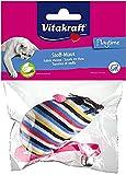 Vitakraft juguete rat?n con cascabel + Hierba de gato, surtido: colores aleatorios