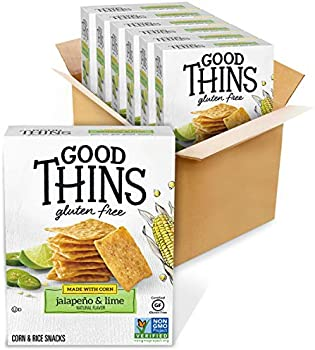 6-Pack Good Thins Gluten Free Corn & Rice Crackers 3.5 oz. Boxes