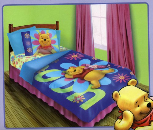 Winnie the Pooh - Sunshine - BED IN A BAG Set - Twin/Single Size
