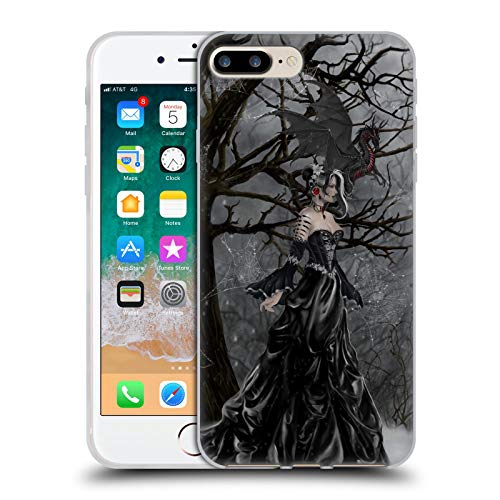 Head Case Designs Ufficiale Nene Thomas Fata Regina Gotica con Drago Foresta Profonda Cover in Morbido Gel Compatibile con Apple iPhone 7 Plus/iPhone 8 Plus