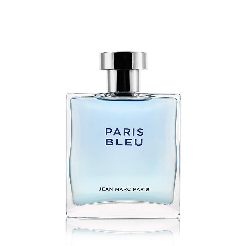 Jean Marc Paris Paris Bleu Homme Eau de Toilette Spray, 3.4 fl. oz, blue