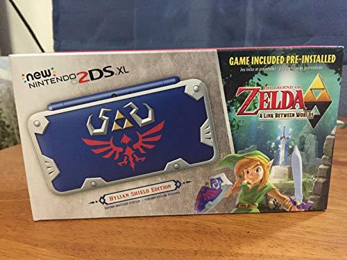 New Nintendo 2DS XL Hylian Shield Ed., w/ Legend of Zelda: A Link Between Worlds [video game]