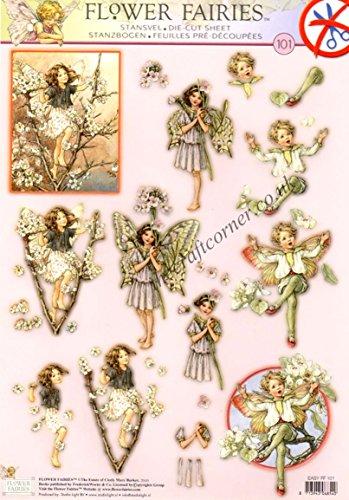 Die Cut Découpage Sheet - Flower Fairies 101