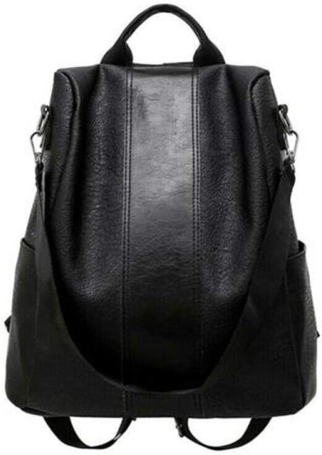 ZYSAJK Fashion Women Ladies Pu Leather Travel Shoulder Bag Girls Ladies Backpack Bags 2 Colors Fashion Women Backpack