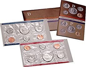 1984 P, D U.S. Mint - 10 Coin Uncirculated Set with Original Governmetn Packaging Uncirculated