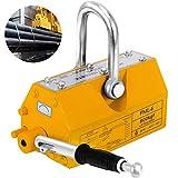 VEVOR 600KG Sollevatore Magnetico 1320Lbs Magnete di Sollevamento in Metallo per Ascensore Industriale in Lega di Titanio d'Acciaio