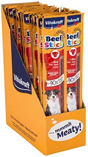 Vitakraft Beef Stick al Manzo Fatto con più del 90% di Pura Carne