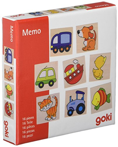Goki 56698.0 Mein erstes Memo-Spiel, gemischt
