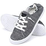 JENN ARDOR Women's Low Top Classic Slip-On Lightweight Comfort Fashion Sneakers Shoes for Walking