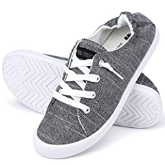 Lightweight: Low top shoes are really light, you even can't feel the weight of them. They reduce more burden that others when you are walking by wearing shoes. Ergonomically designed:The ergonomic medial arch support design and the S-shaped curve des...