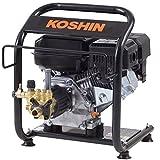 工進(KOSHIN) エンジン式 高圧 洗浄機 14MPa 据置タイプ JCE-1408U 自吸 水道直結 農機具 強力 洗浄