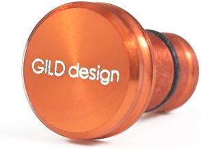 GILD design アルミ削り出し イヤホンジャックカバー オレンジ GA-200OR