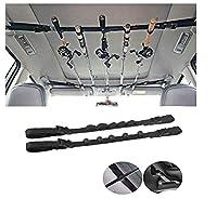 iMunir Vehicle Fishing Rod Rack,Car Fishing Rod Holder Strap,Fishing Pole Carrier Storage Rack for SUVs Wagons and Vans