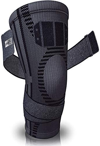 Pure Support Knee Brace Compression Sleeve for Running Arthritis Pain Sports product image