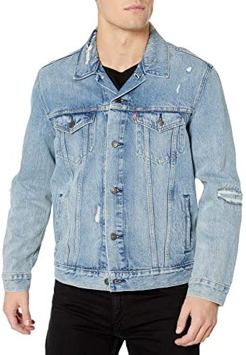 Levi s Men s Trucker Jacket Outerwear Get Ripped XL product image