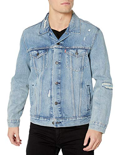 Levi's Men's Trucker Jacket Outerwear, -Get Ripped, XL