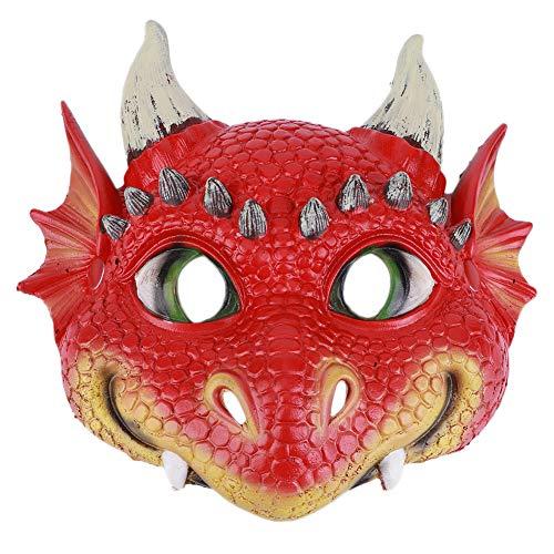 Zerodis Traje de Halloween Prop Face Shield Wing Set Niños Accesorios de decoración de Halloween Regalo de Halloween para niños y niñas(Máscara)