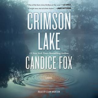 Crimson Lake audiobook cover art