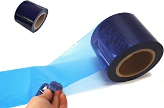 JNK NETWORKS Surface Protective Clear/Blue Removable Scratch Film Tape Roll (Blue, 3.9 in.x 164 yds.)