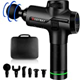 Bodybay Personal Massage Gun Deep Tissue Percussion Muscle Massager, Vibration Handheld 30 Adjustable Speeds Muscle Quiet Massager for Athletes Pain Relief and Recovery