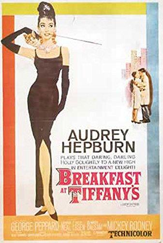 Breakfast at Tiffany´s - One Sheet - Filmposter Kino Movie Audrey Hepburn - Grösse 61x91,5 cm