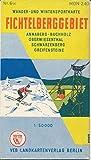 Fichtelberggebiet DDR-Wanderkarte
