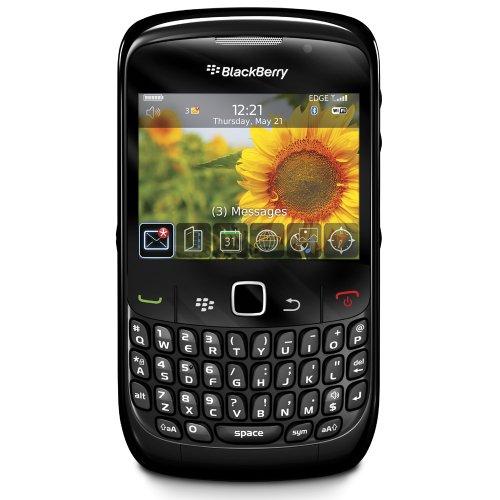 BlackBerry Curve 8520, Display 2.64 Pollici, Wi-Fi, Nero