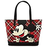 Loungefly Disney Mickey Mouse Twill Tote Standard