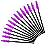 AOLANS 100Pack Disposable Eyelash Mascara Brushes for Eyelash Extensions Wands Applicator Makeup Tool Kits 2 colors
