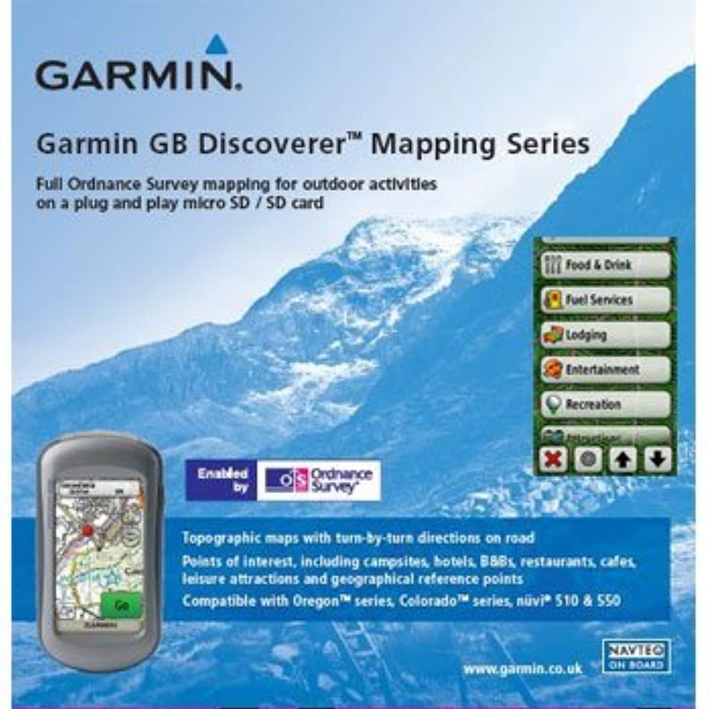テロリスト狂信者読み書きのできないGarmin GB Discoverer 2010 Loch Lomond/Trossachs Topographical Map microSD Card [並行輸入品]