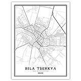 Lonfenner Leinwand Bild,Bila Tserkva Ukraine Abstrakte