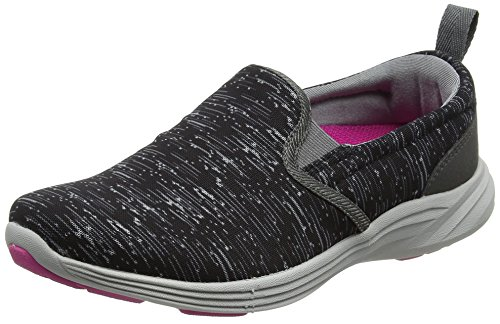 Vionic with Orthaheel Technology Women's Kea Slip-On,Black,US 7.5 M