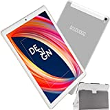 Tablette Tactile 10 Pouces 4Go RAM 64Go ROM Android 9.0 Pie Ultra-Rapide Tablets 4G Dual SIM+MicroSD Quad-Core- 7500mAh WiFi...