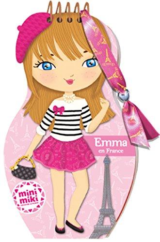 Minimiki - carnet créatif - Emma en France (P.BAC MINI.CARN)