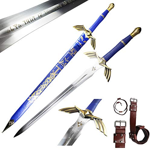 Legend of Zelda Full Tang Master Sword Skyward Limited Edition Deluxe Replica. for Collection and Cosplay