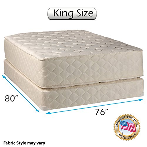 Best Prices! Dream Sleep Highlight Luxury Firm Mattress Set with Mattress Cover Protector Included -...