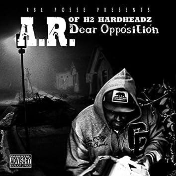 Dear Opposition